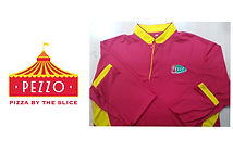 PEZZO Polo Long Sleeve t-shirt printing Singapore