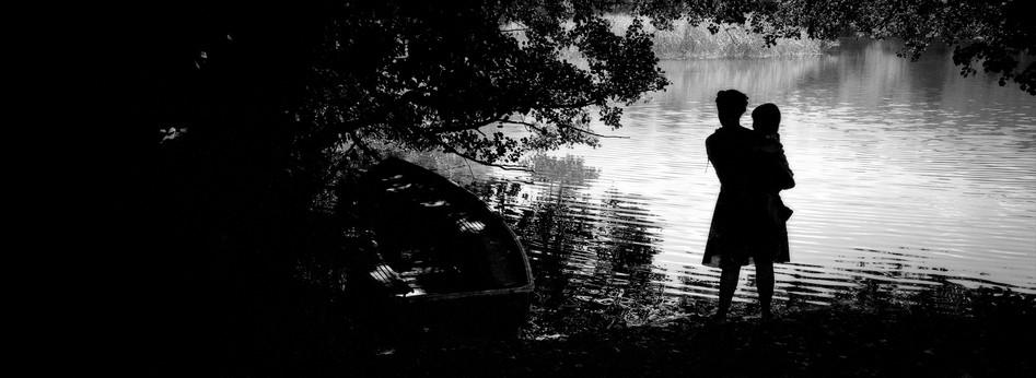 Lady by the Lake, Pogradec, Albania 2005