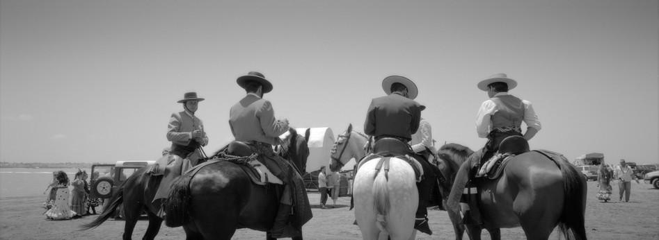 Horsemen, El Rocio, Spain 2012