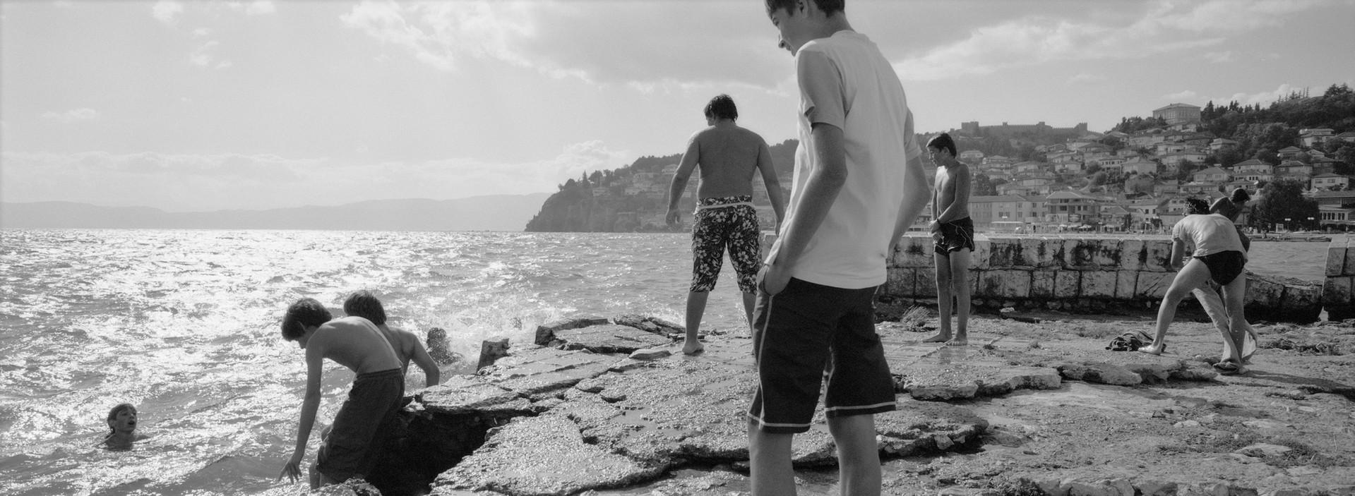 By the Lake, Lake Ohrid, Macedonië 2005