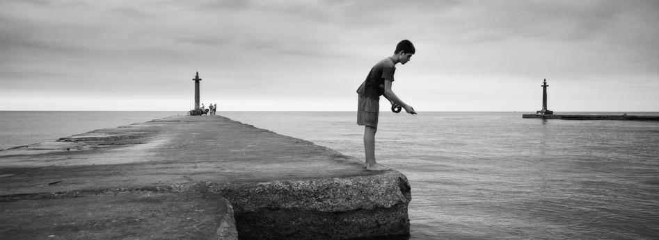 Cuban Fisherboy, Varadero, Cuba 2005