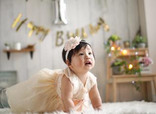 【1歳バースデーフォト】