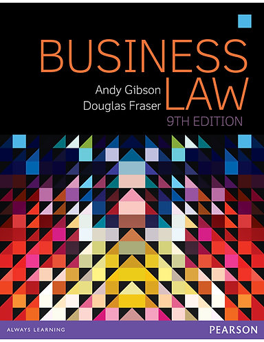 LEGL1001 Business Law, 9th Edition