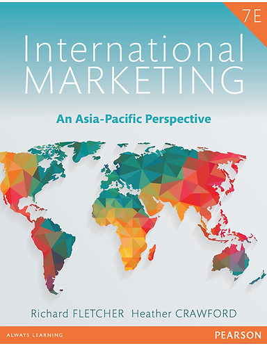 MKTG3060 International Marketing: An Asia-Pacific Perspective, 7th Edition
