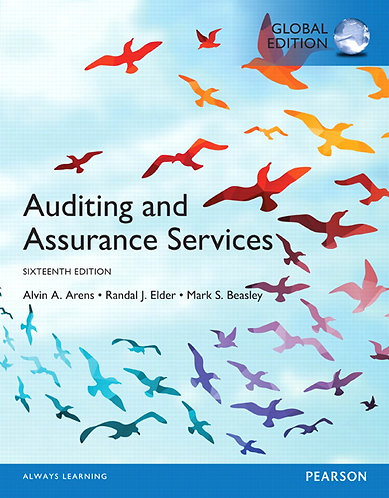Auditing and Assurance Services, Global Edition, 16th edition