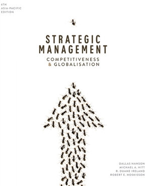 GSBS6060 Strategic Management: Competitiveness & Globalisation, 6th Edition