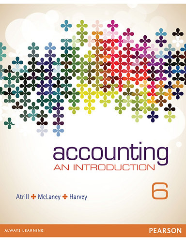 GSBS6200 Accounting: An Introduction, 6th Edition
