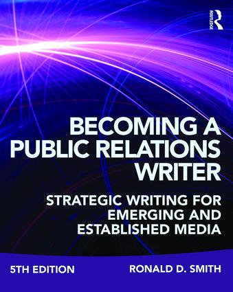 CMNS2710 Becoming a Public Relations Writer, 5th Edition