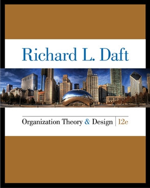 MNGT3004 Organisation Theory & Design, 12th Edition