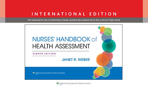 Nurses' Handbook of Health Assessment, 8th edition