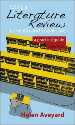 Doing A Literature Review in Health & Social Care, 3rd edition