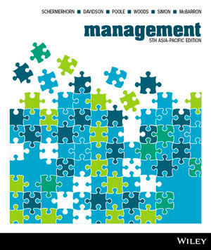 MNGT1001 Management: 5th Asia-Pacific Edition, 5th Edition