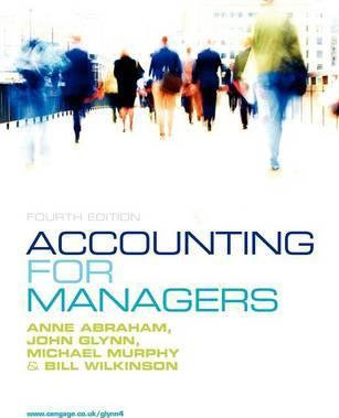 Accounting for Managers (Revised)