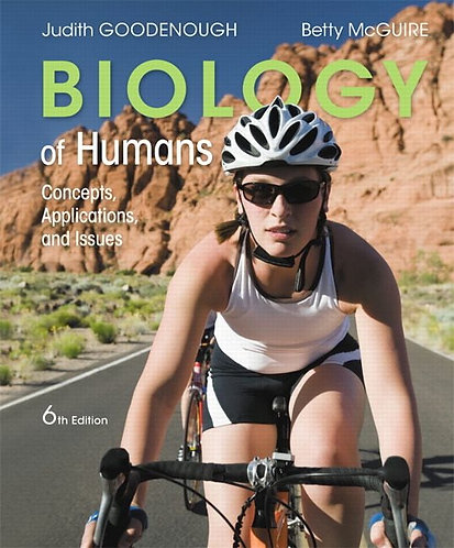 ENVS2620 Biology of Humans: Concepts, Applications & Issues 6th Edition