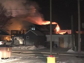 Chetek Structure Fire
