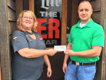 Local business hosts a fundraising event to support first responders!