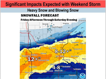 Significant Weekend Storm Expected