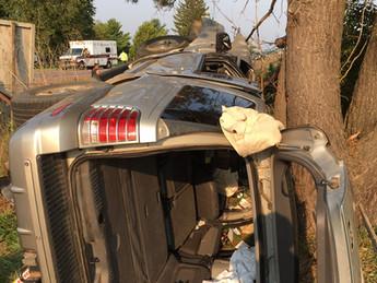 2-Car Crash with Entrapment