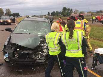 Car Accident Closes Highway 53