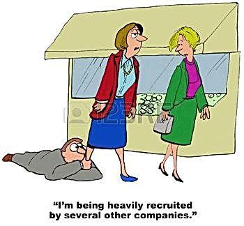 A resignation cartoon