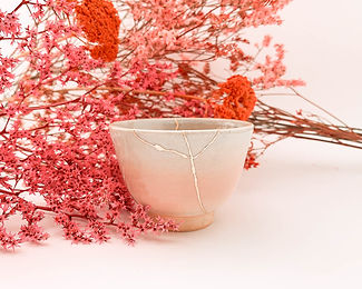 Realkintsugi Kintsugi gold bowl japanese