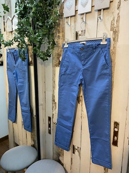 Pantaloni cotone Risskio