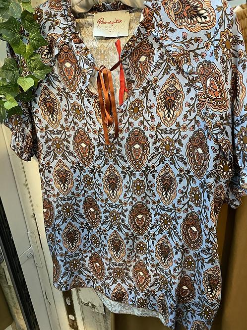 Camicia in viscosa Rosemary -Risskio