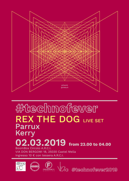 FLYER / U-Bahn- // #technofever // Rex the Dog