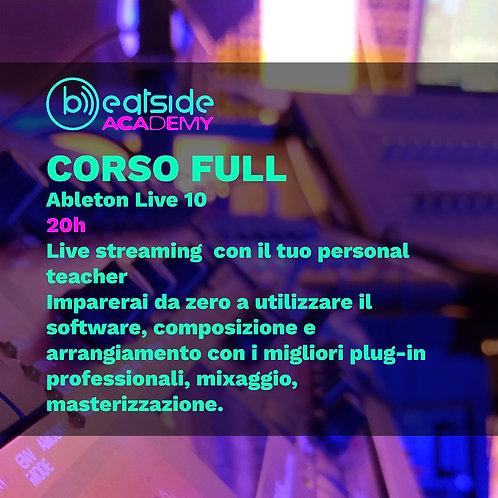 Corso Full Ableton LIve 10