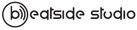 Logo beatside studio nero per esteso sma