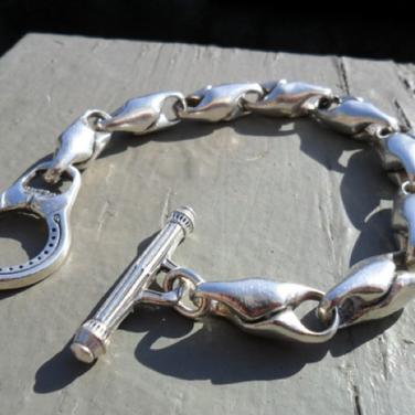 custom silver bracelet