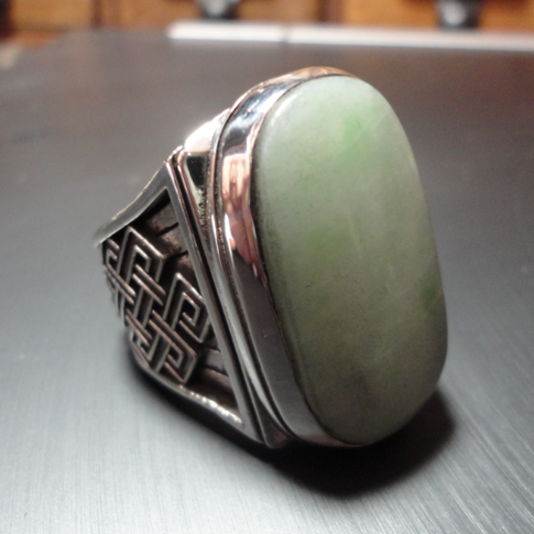 custom jade ring