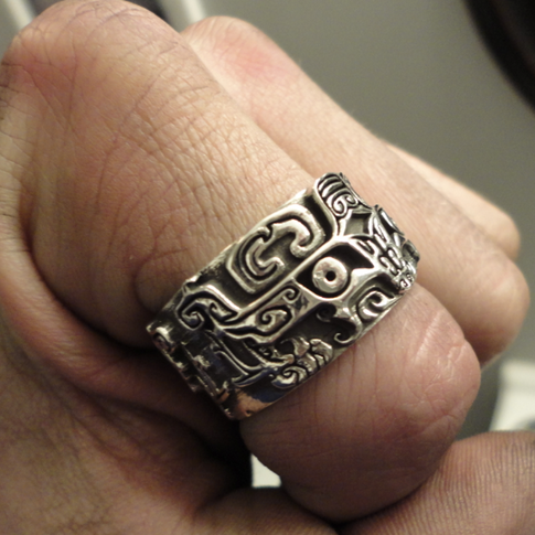 chinese band ring