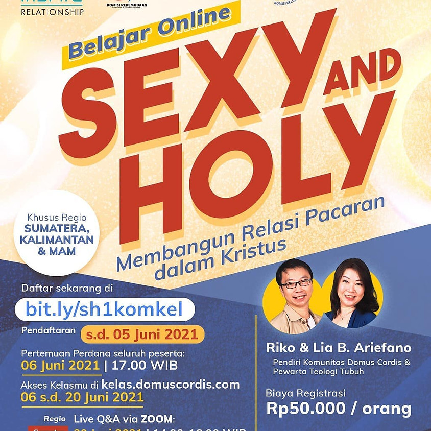 Inspire Relationship: Belajar Online Sexy and Holy