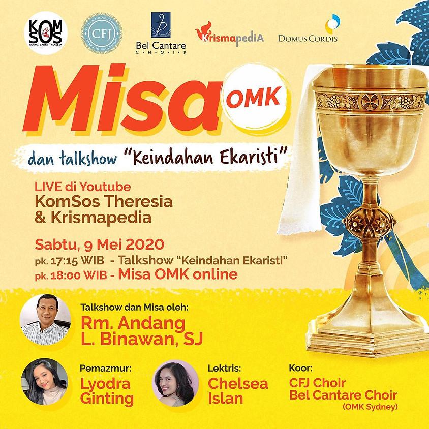 MISA OMK | Talkshow Rm. Andang L. Binawan, SJ