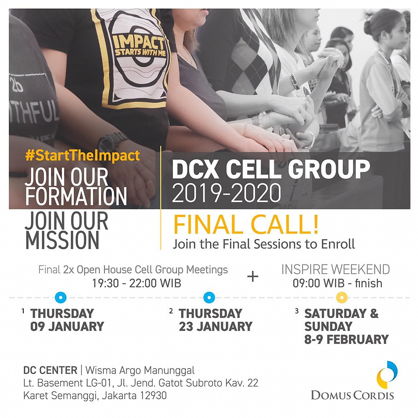 DCX Cell Group 2020