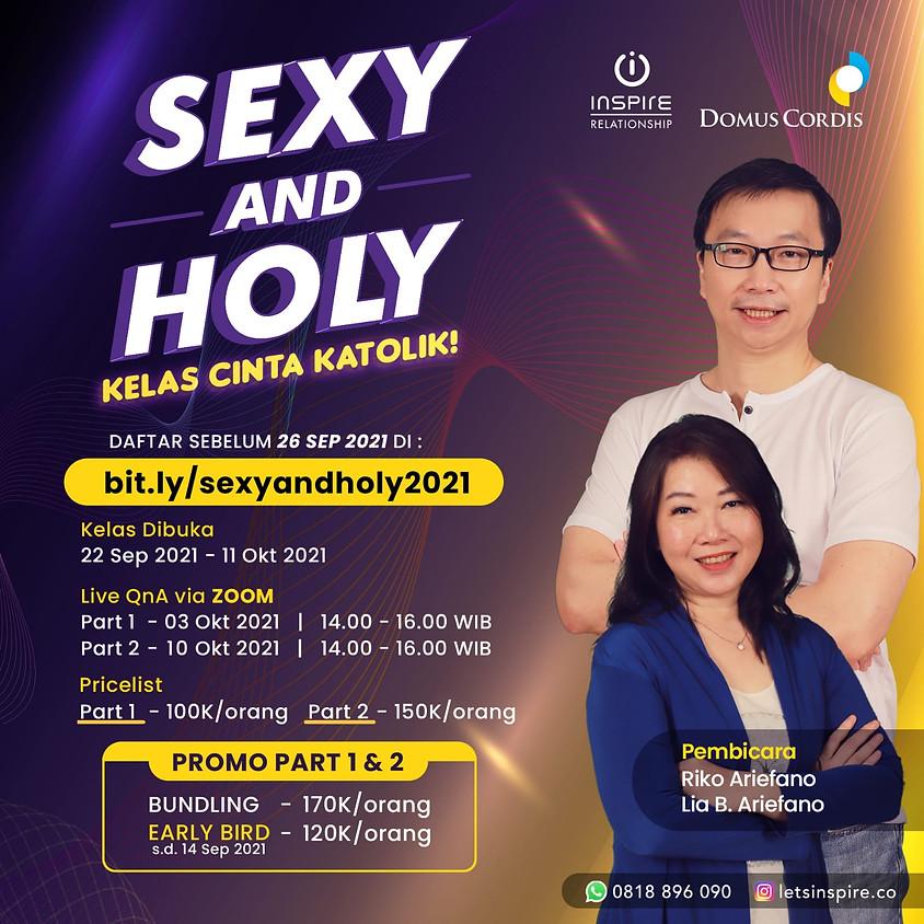 Sexy and Holy | Kelas Cinta Katolik