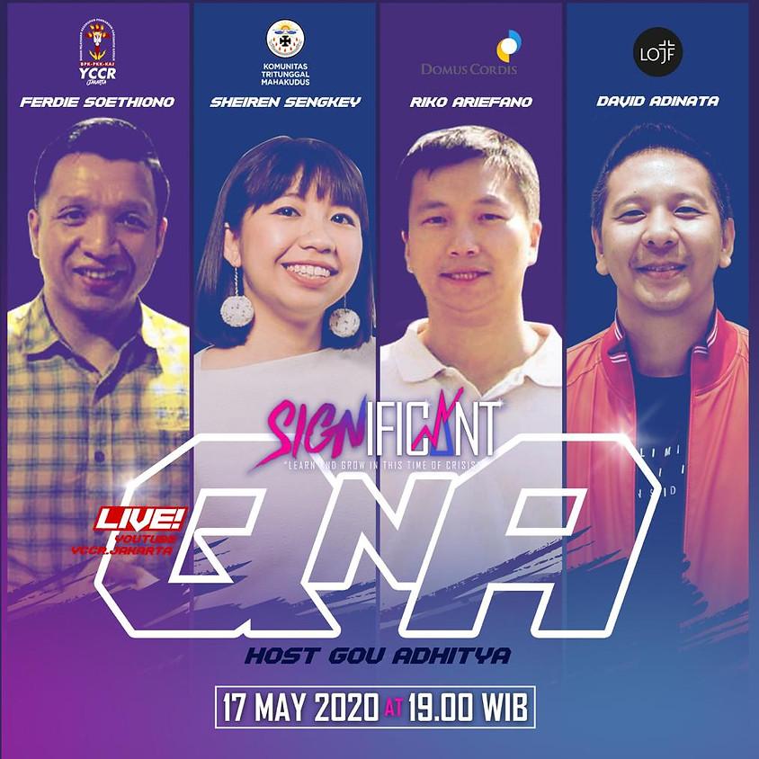 SIGNIFICANT | QnA | Domus Cordis, YCCR Jakarta, LOJF, KTM