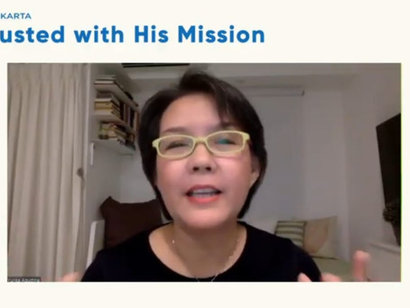 Entrusted with His MISSION