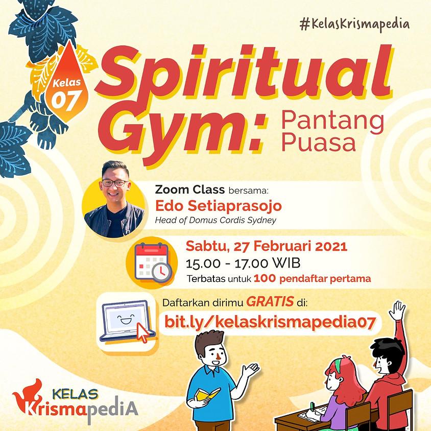 Kelas Krismapedia 07 | Spiritual Gym