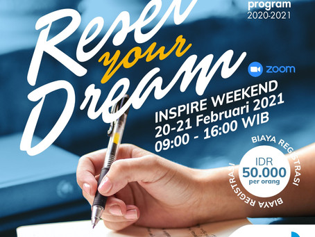 Inspire Weekend: Reset Your Dream