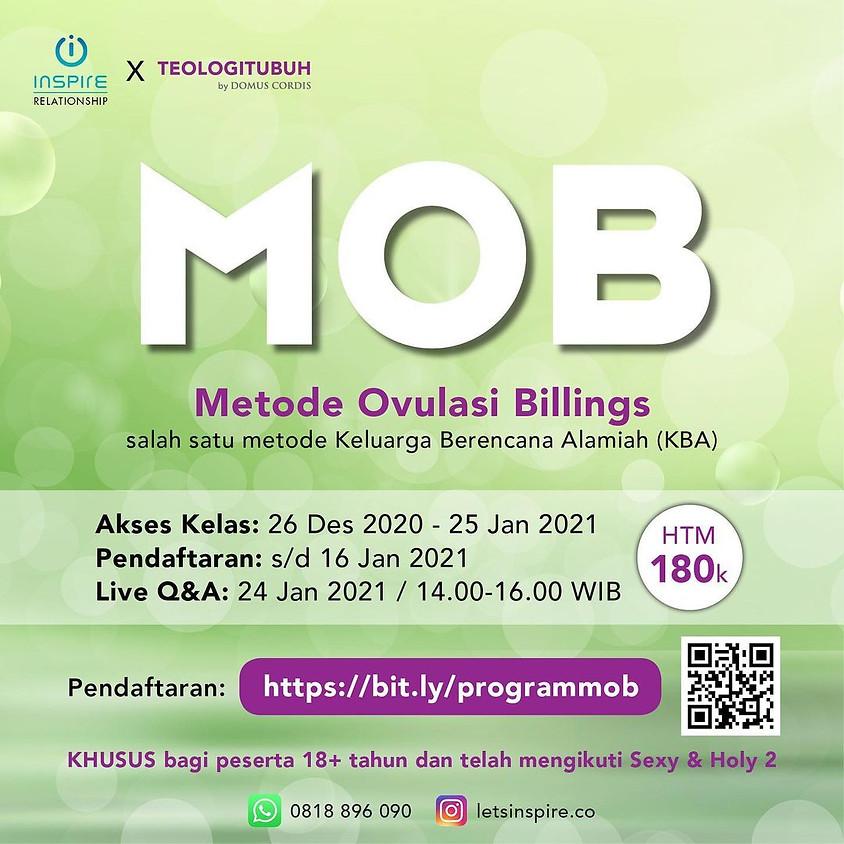 Live Q & A | Program MOB (Metode Ovulasi Billings)