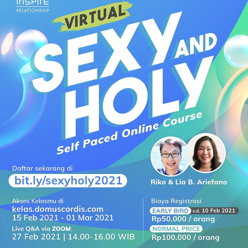 Virtual Sexy and Holy