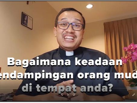 RD Antonius Haryanto dan Pendampingan Orang Muda