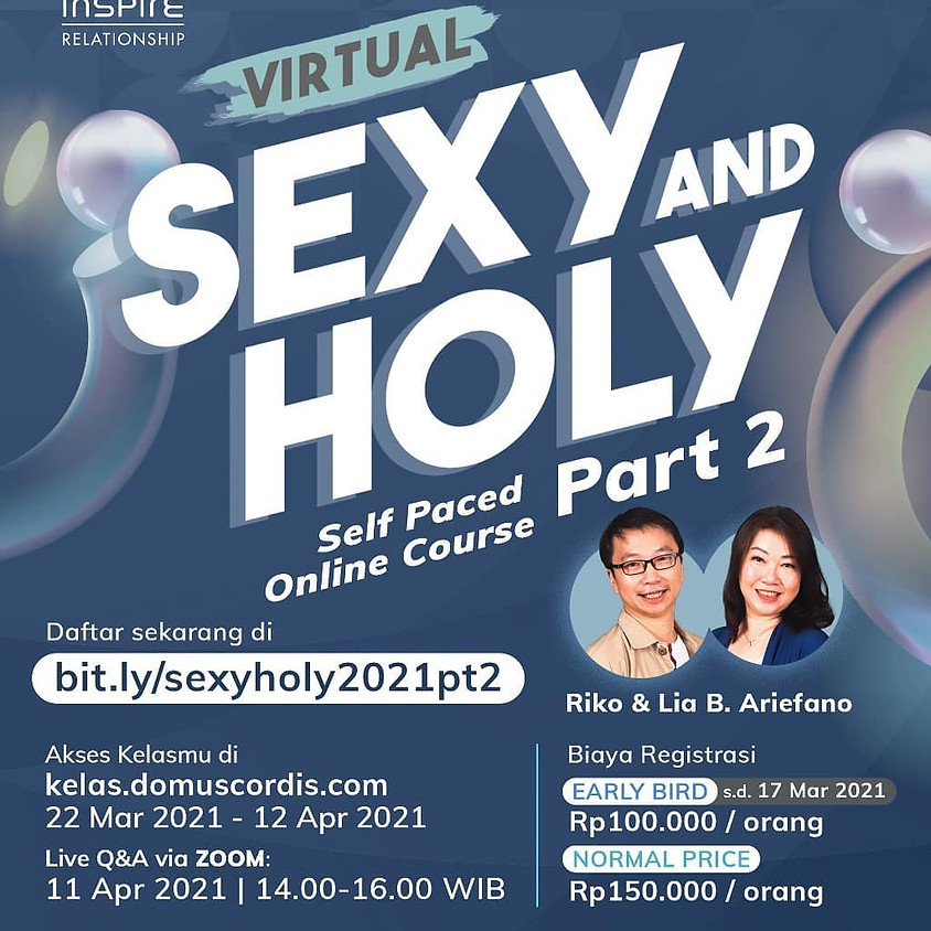 Inspire Relationship: Virtual Sexy and Holy part 2