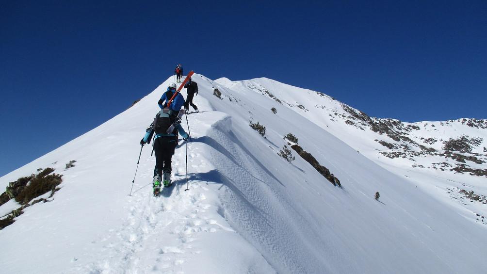 Salida Esquí de Muntanya
