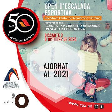 POSTER OPEN D'ESCALADE CPA 2020-03(2)-01