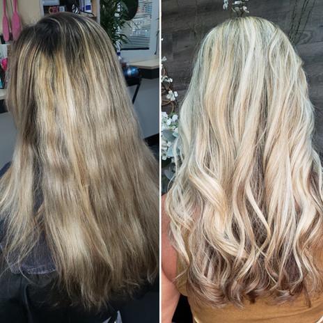 Full Weave Blonde