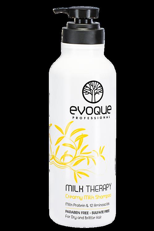 Evoque Milk Therapy Moisturizing Shampoo