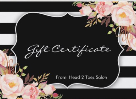 Grab a Gift Certificate
